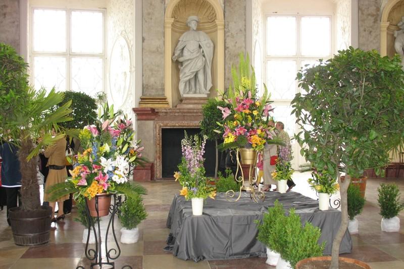 Výstava na Vranovském zámku - Vranovská lilie