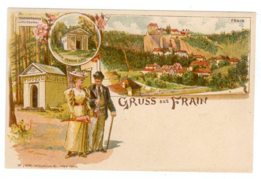 Vranov nad Dyjí - historická fotografie