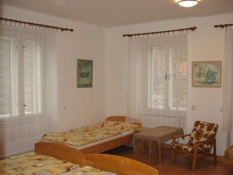 Apartmá č.1 - větší pokoj
