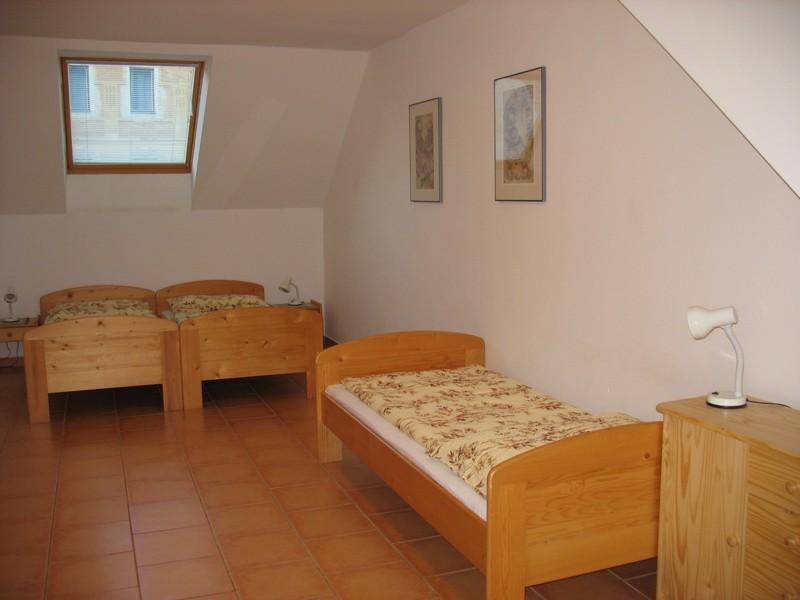 Apartmá č.12 - pokoj
