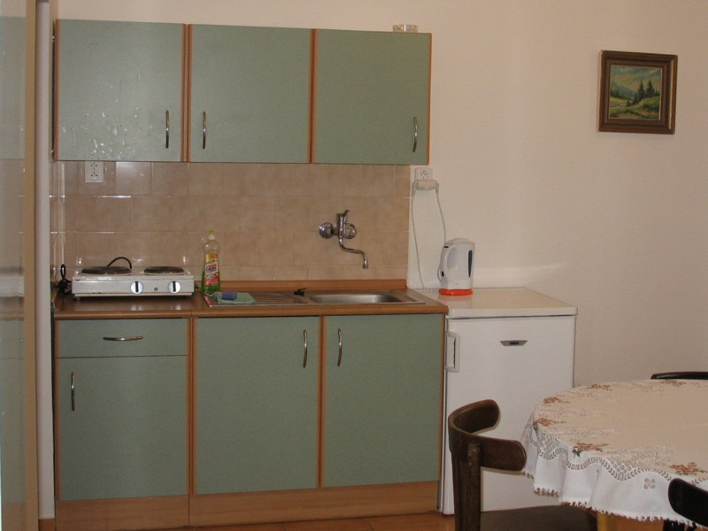 Apartmá č.3 - kuchyně