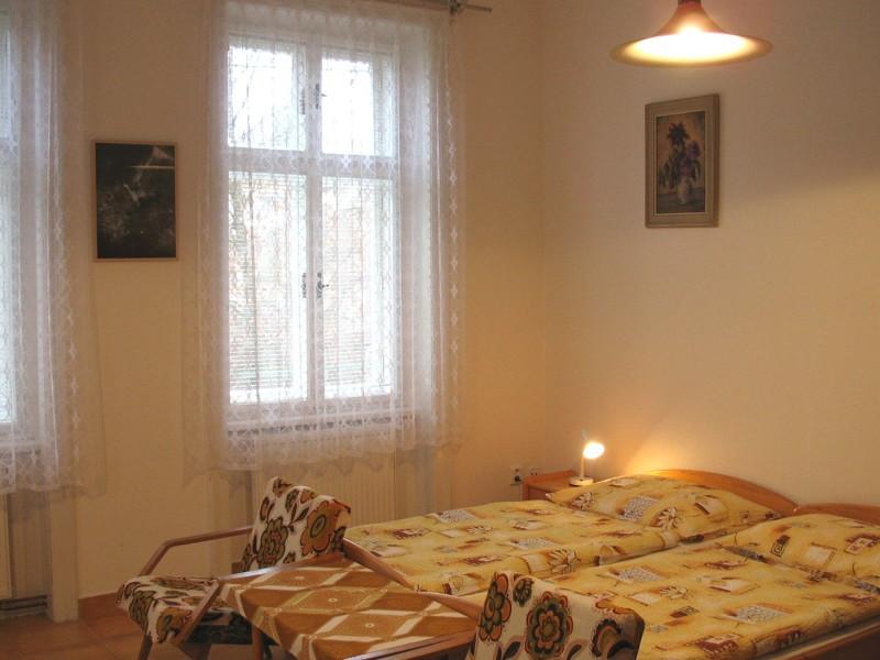 Apartmá č.3 - pokoj