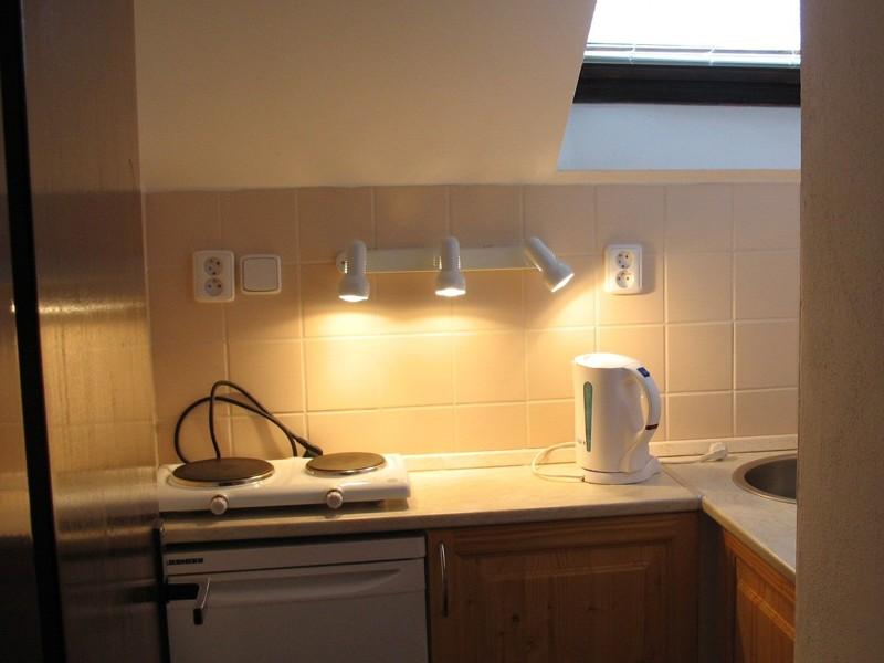 Apartmá č.5 - kuchyňka