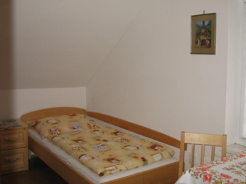 Apartmá č.5 - menší pokoj