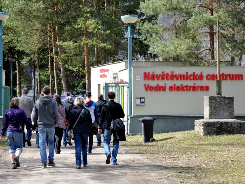Vodní elektrárna Vranov - Návštěvnické centrum E-on