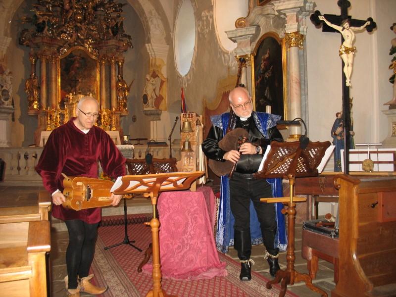 Koncert ve vranovském kostele