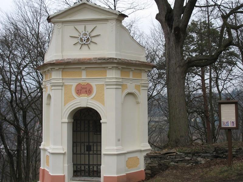 Vranov nad Dyjí - kaple výběrčího