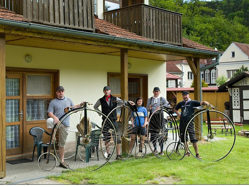 Penzion Relax - ubytování i pro cykloturisty (nejen na kostitřasech)