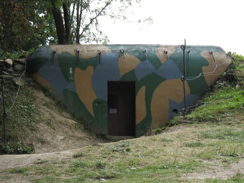 Vranov nad Dyjí - pevnostní muzeum (bunkry)
