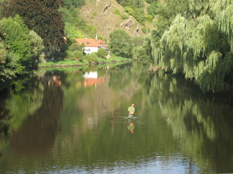 Vranov nad Dyjí - řeka Dyje