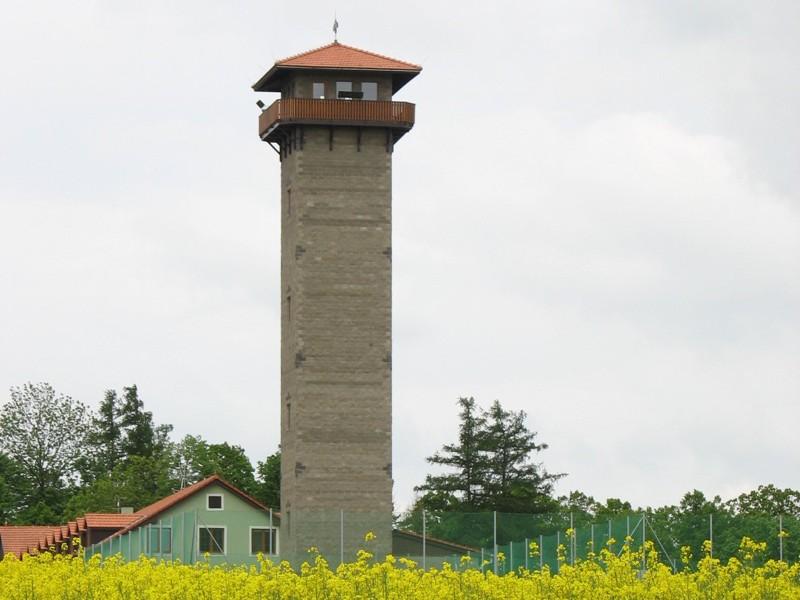 Rozhledna Rumburak v Bítově, nad Vranovskou přehradou