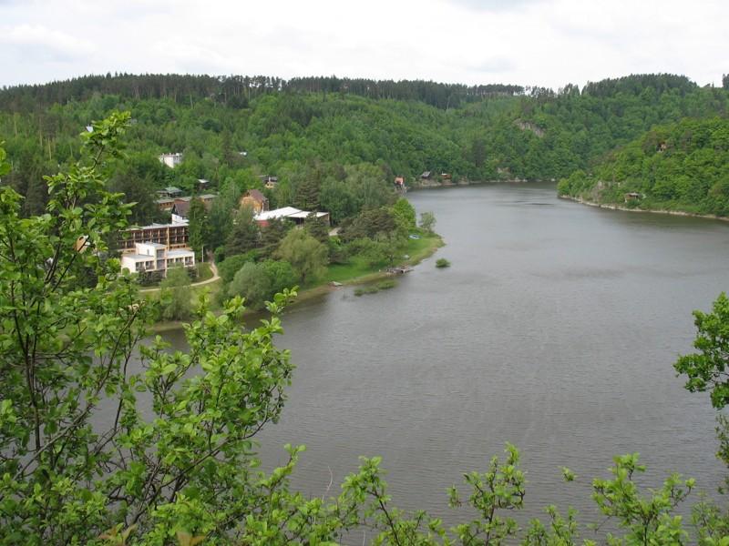 Vranovská přehrada - rekreační oblast Chmelnice