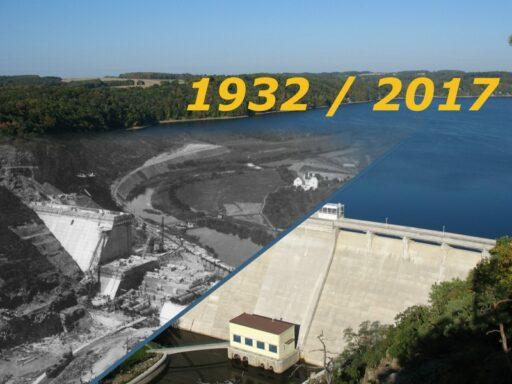Vranovská přehrada - výstavba a současnost