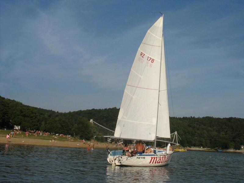 Jachting na Vranovské přehradě