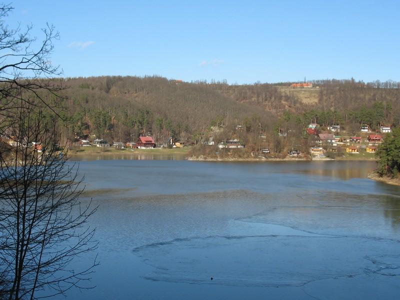 Vranovská přehrada - zátoka Bítov-Horka